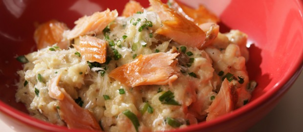 Crab Risotto with Smoked Fish - FOODLOVER