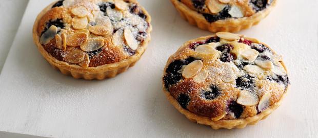 A Very Moreish Dessert: Blueberry Frangipane Tarts