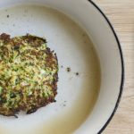 Lunch Box Ideas: Courgette & Halloumi Fritters