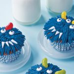 Halloween Party Ideas: Monster Cupcakes