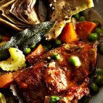 Warming Meals: Lamb Stew with Artichoke & Peas