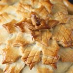 Celeriac, Leek, Chestnut and Cranberry Pies
