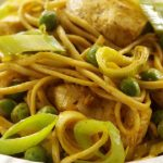 'Field to Plate' Recipe: Leek and Chicken Noodles