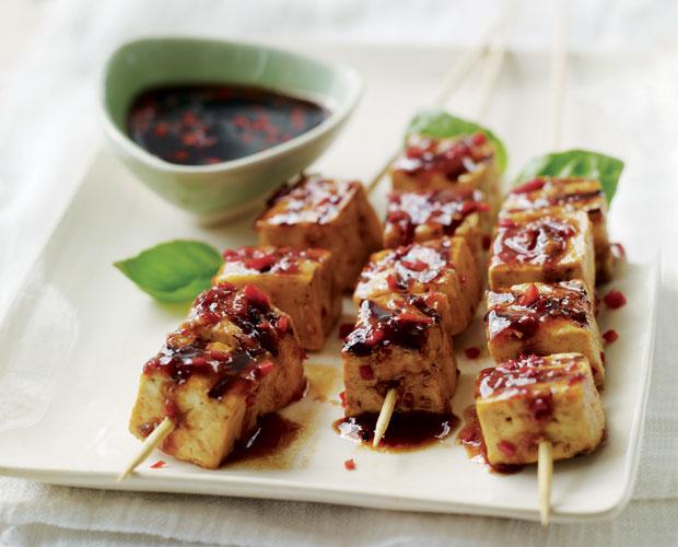 BBQ With a Vietnamese Twist: Spicy Tofu Satay