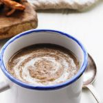 Creamy Wild Mushroom and Chestnut Soup