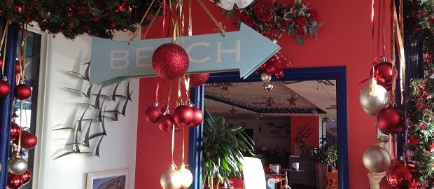 Complimentary Christmas Cheer from By the Bay, Lyme Regis