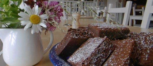 Symondsbury's chocolate brownies