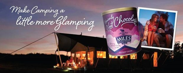 Make camping a little more glamping…