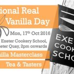 Celebrate National Real Vanilla Day in Exeter