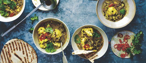 Kerala cauliflower curry