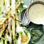 Roasted Asparagus & Pistachio Salad