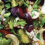 Pearl Barley, Beetroot & Broccoli Salad