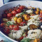 Tomato, Oregano & Basil Fish Bake