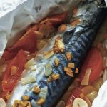 Barbecued Mackerel with Tomatoes & Onions