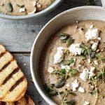 Porcini & Chestnut Soup