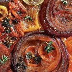 Individual Tomato & Onion Tarte Tatin