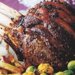 Festive Roast Beef with Ginger & Five-Spice Butter