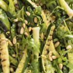 Chargrilled Leek,Courgette& Herb Salad