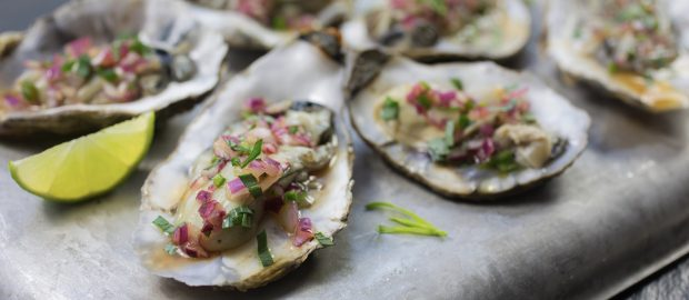 Fiery Oysters with Tarragon Sauce 2