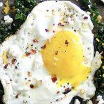 Fried Egg withCavoloNero, Feta &Chilli