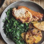 Pork Steaks with Pan-Roasted Swede