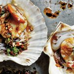Steamed Scallops with Garlic & Vermicelli