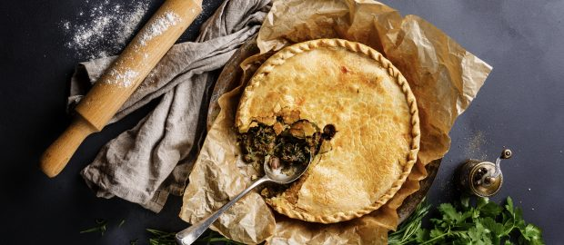 Meat Pie with herbs