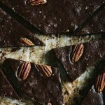 Pecan-studded Sweet Potato Brownies