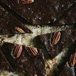 Pecan-studded Sweet Potato Brownies