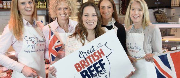 Celebrating the best of British beef with Ladies in Beef