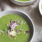 Radish Leaf Soup with Caraway