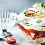Pimm's Trifle with Lemon Curd Cream