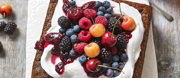 Vegan Almond Rye Cake