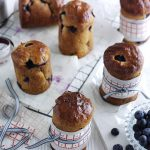 Mini Spiced Blueberry Panettone